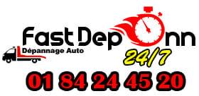 Dépanneuse & Remorqueur Auto Moto Camion Paris Logo